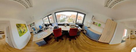 Panoramafoto unserer Agenturräume